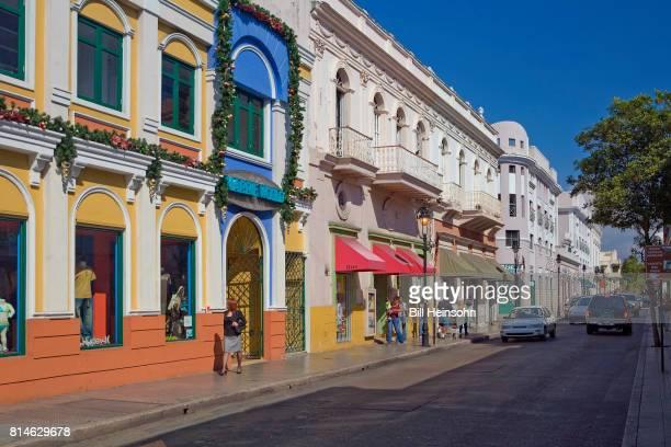 City street in San Juan, Puerto Rico