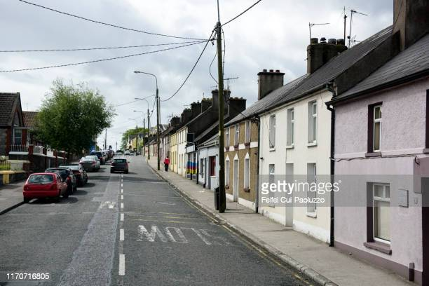 city street of midleton, ireland - town stock pictures, royalty-free photos & images