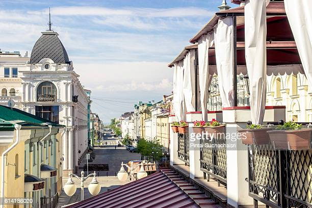 City Street View of Kazan, Russia