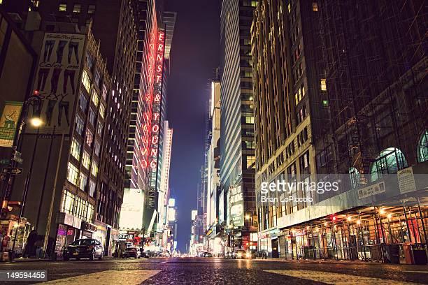 NY City streets
