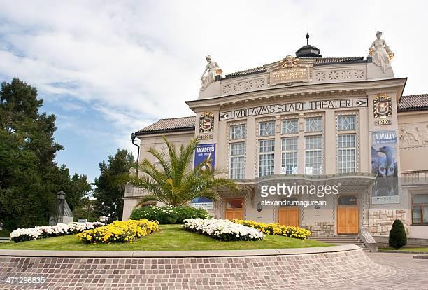 街の劇場 - クラーゲンフルト ストックフォトと画像