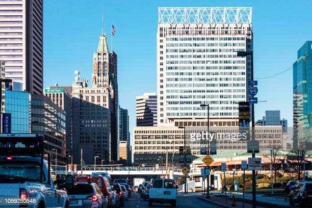 City traffic - Baltimore, Maryland