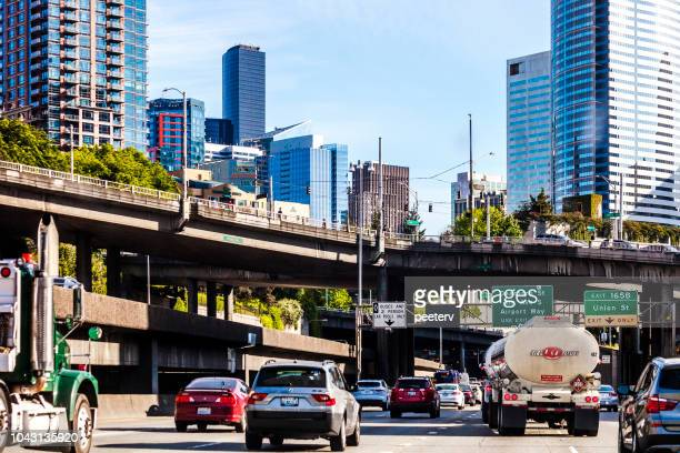 City traffic - Seattle, Washington