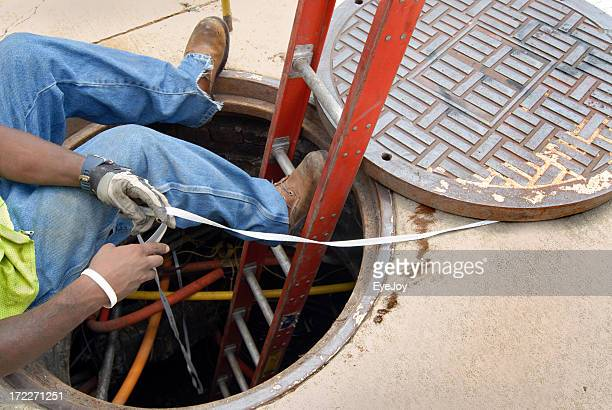 City Utility Worker