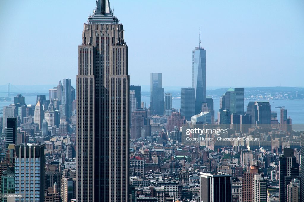 NY City Verticality : Foto de stock