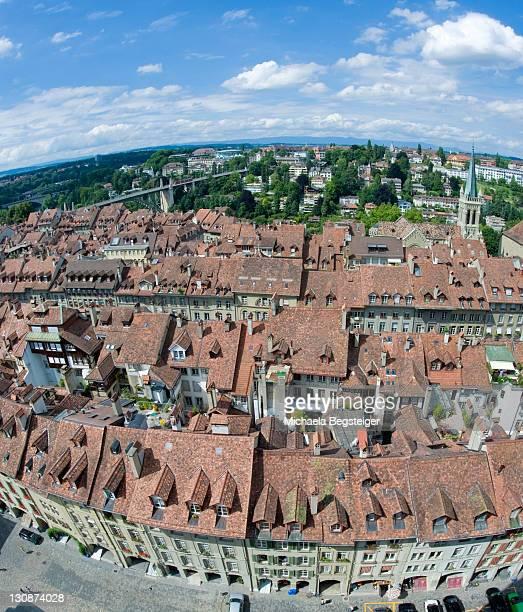 city view, berne, switzerland, europe - michaela du toit photos et images de collection