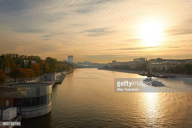 City view from Pushkinsky bridge, Moscow