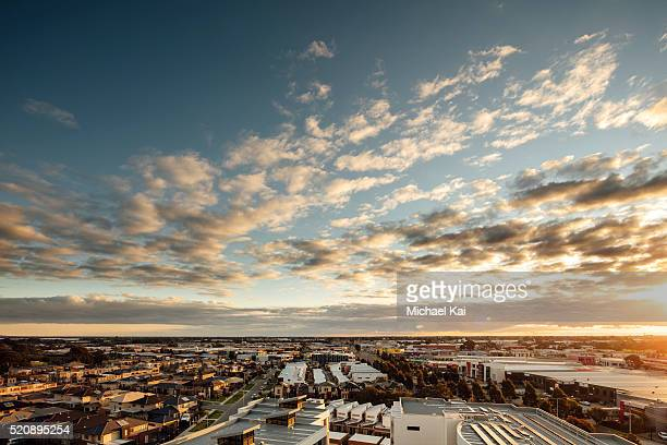 City view in Dandenong Victoria looking south
