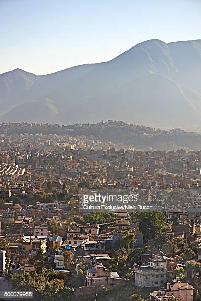 City view, Kathmandu Valley, Kathmandu, Nepal