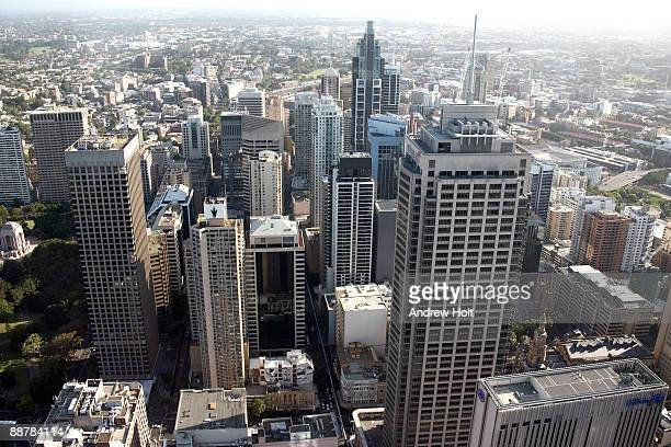 City view of Central Business District, Sydney.