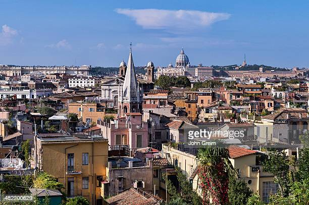City view of central Rome