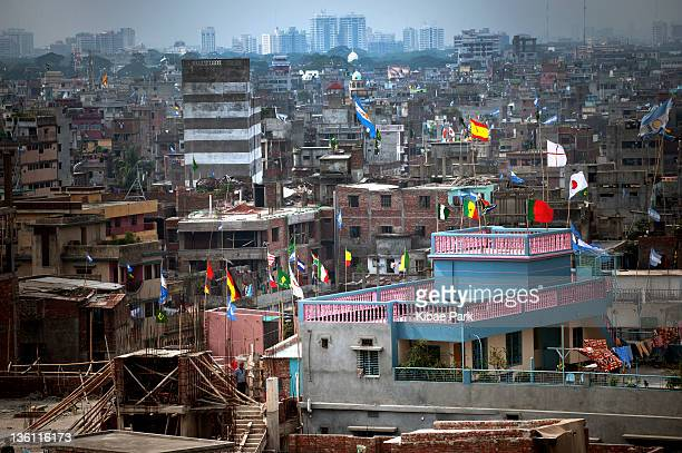 City view of old Dhaka