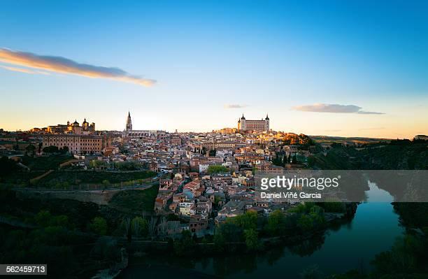 A city view of Toledo