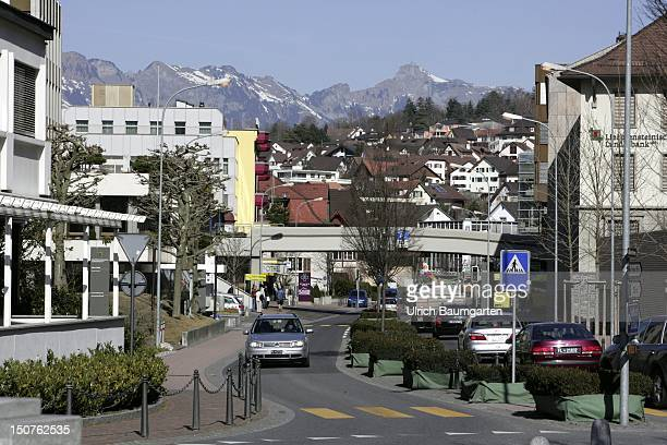 City view of Vaduz.