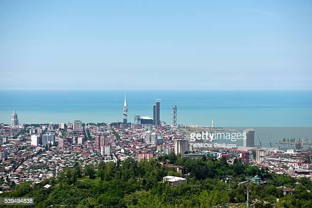 City view on city of Batumi Georgia