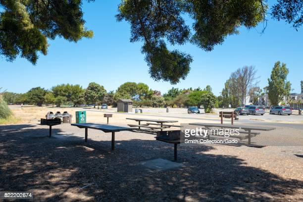 City View picnic area at Crown Memorial State Beach, an East Bay Regional Park in the San Francisco Bay Area town of Alameda, California, July 20,...