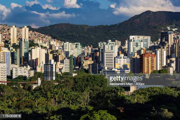 city view - belo horizonte stock pictures, royalty-free photos & images