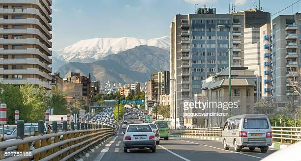 Blick auf die Stadt, Teheran, Iran