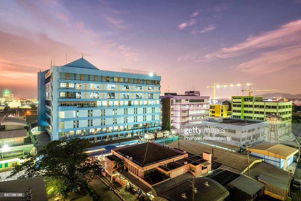 City View Twilight of Chonburi Hospital : Stock-Foto