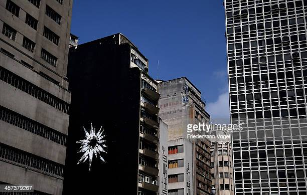 City views ahead of the FIFA 2014 World Cup Brazil on December 16 2013 in Sao Paulo Brazil