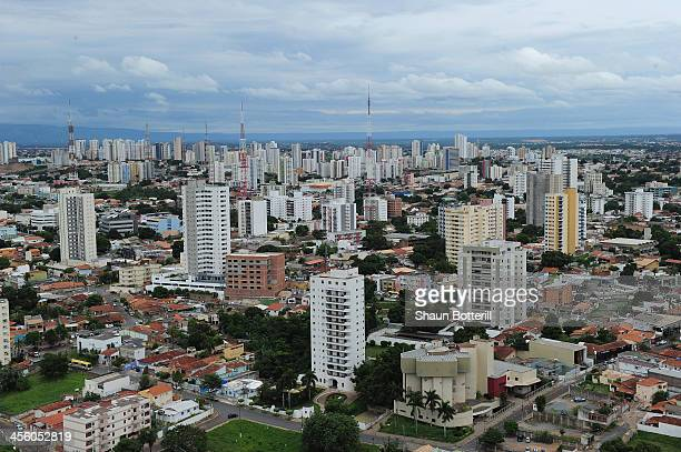 City views from the air on December 13 2013 in Cuiaba Brazil