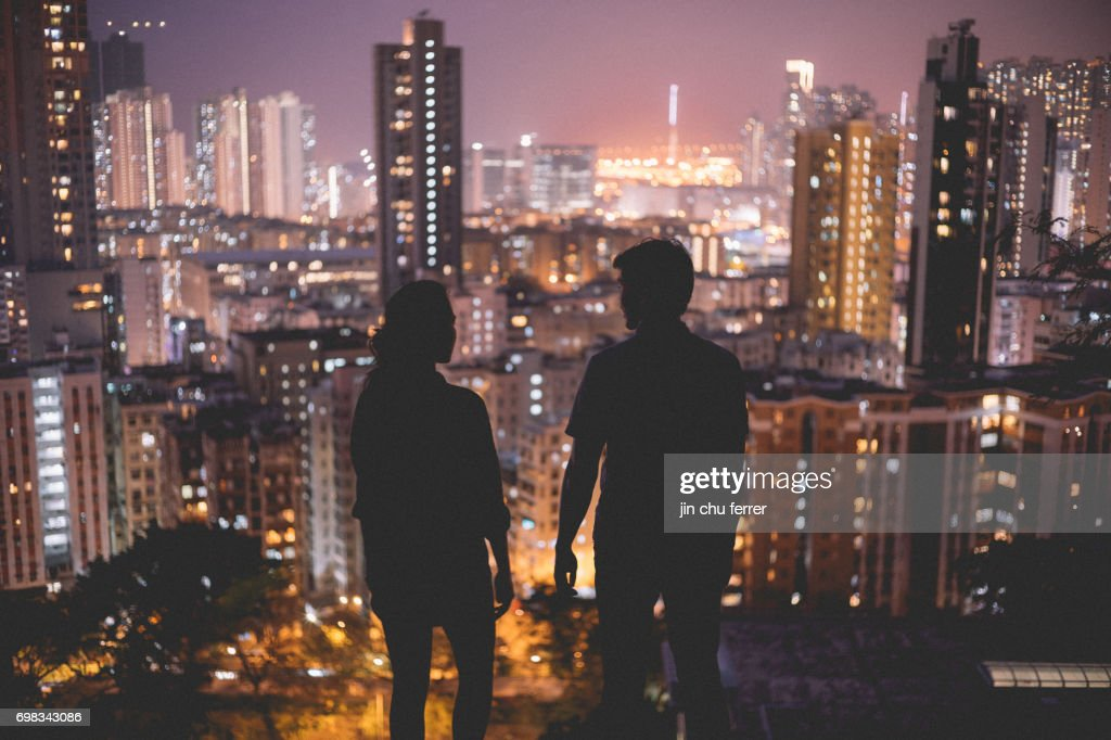 City Views of HK : Stock Photo