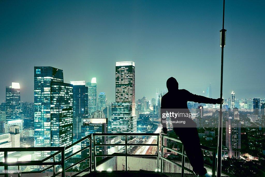 city walker : Foto stock