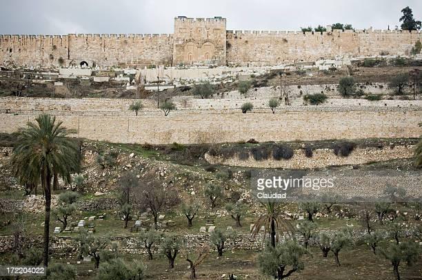 City wall of Jerusalem