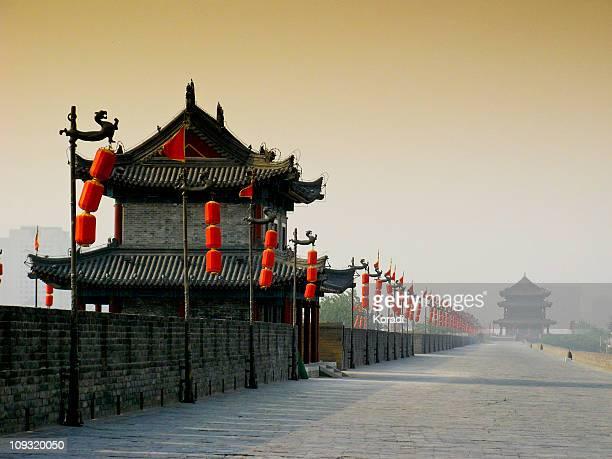 City Wall, Xian, Shaanxi, China