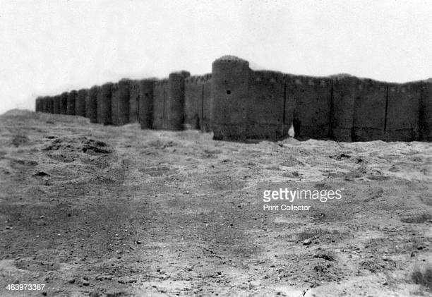 City walls, Samarra, Mesopotamia, 1918. Mesopotamia, formerly part of the Turkish Ottoman empire, was under British military control from October...