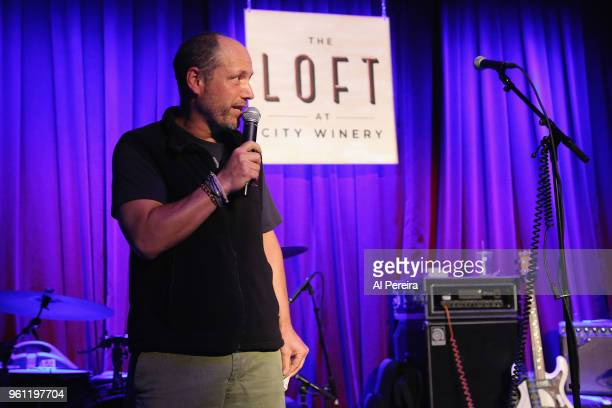 City Winery CEO Michael Dorf introduces The National Reserve during the venue preview party at The Loft at City Winery on May 21 2018 in New York City
