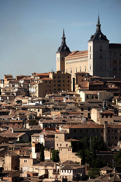 City with Alcazar in background.