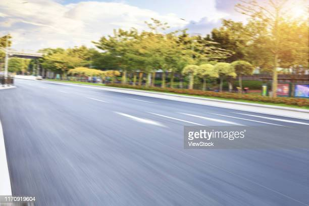 a city without cars - visual_effects stock pictures, royalty-free photos & images