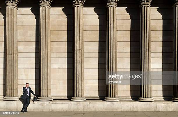 City worker, Bank of England, London