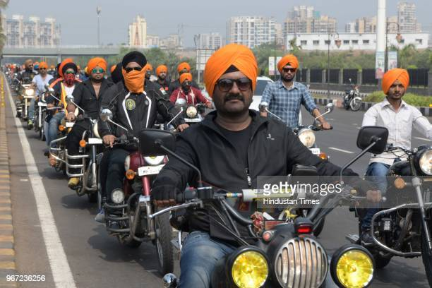 City youths under Sikh Motorcycle Regiment India undertook a Peace Ride in remembrance of the 5th Guru Arjan Dev Ji from Vashi Central Parking to...