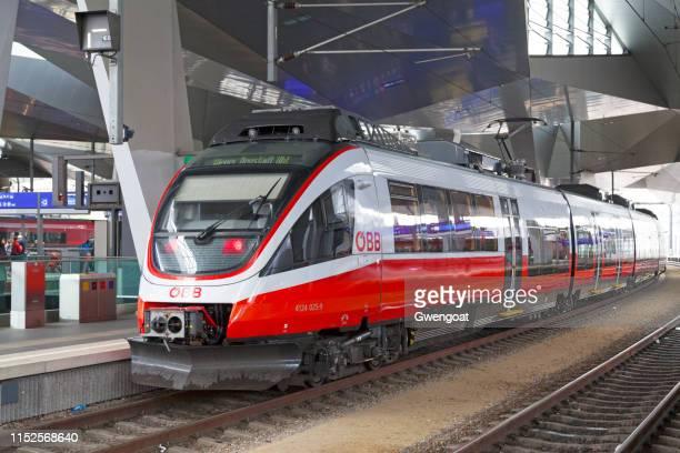 Cityjet at Wien Hauptbahnhof
