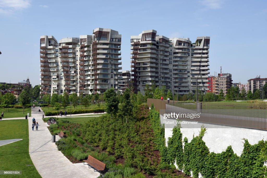CityLife Residenzen - Libeskind : Stock-Foto