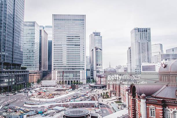 Cityscape Against Sky At Tokyo Station