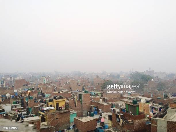 cityscape against sky - faridabad stock pictures, royalty-free photos & images