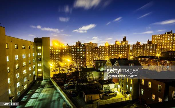 cityscape against sky - the bronx stock pictures, royalty-free photos & images