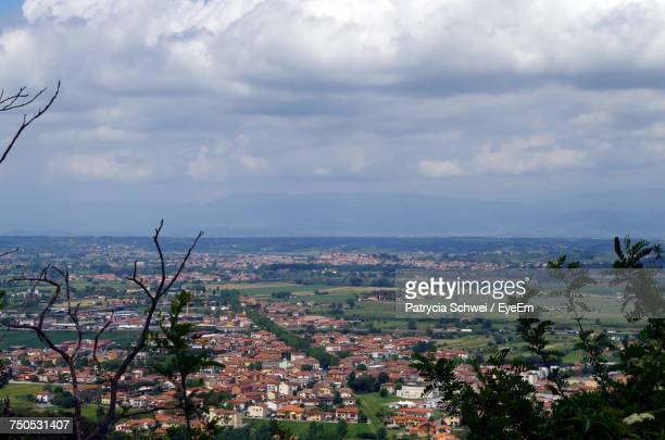 cityscape against sky - san miniato stock pictures, royalty-free photos & images