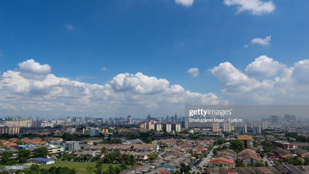 Cityscape Against Sky : Stock Photo
