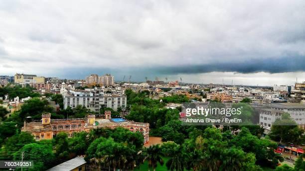 cityscape against sky - madhya pradesh stock pictures, royalty-free photos & images