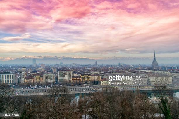 cityscape against sky - turin stock pictures, royalty-free photos & images