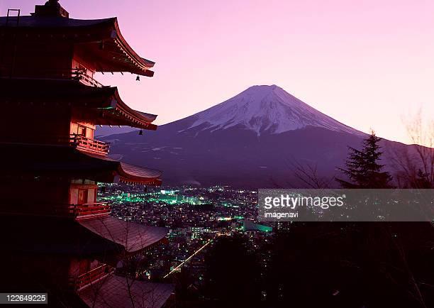 Cityscape and Mt. Fuji