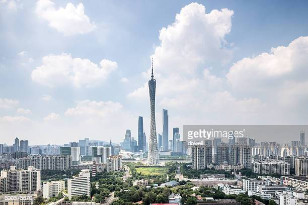 cityscape and skyline of guangzhou