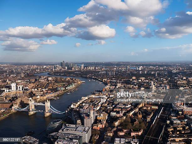 Cityscape and the River Thames