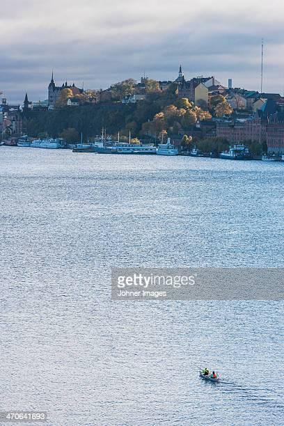 Cityscape at autumn, Riddarfjarden, Stockholm, Sweden
