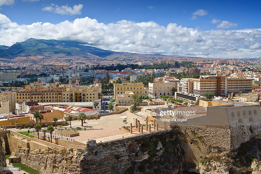 Cityscape at Melilla : Stock Photo