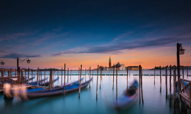 Cityscape At Sunset, Venice, Italy